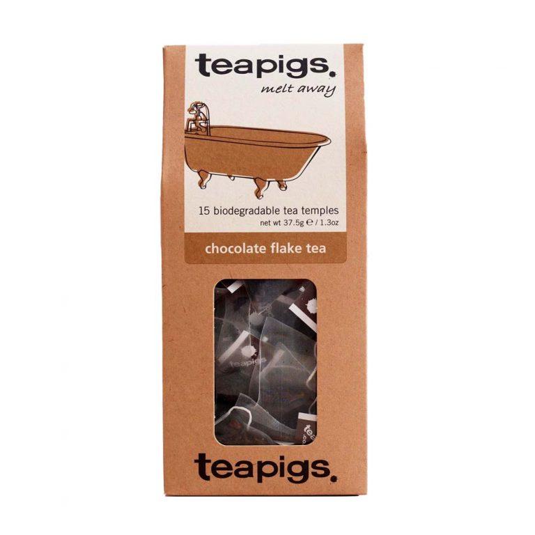Chocolate flake tea